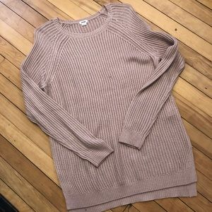 Pinky cream colored light weight sweater